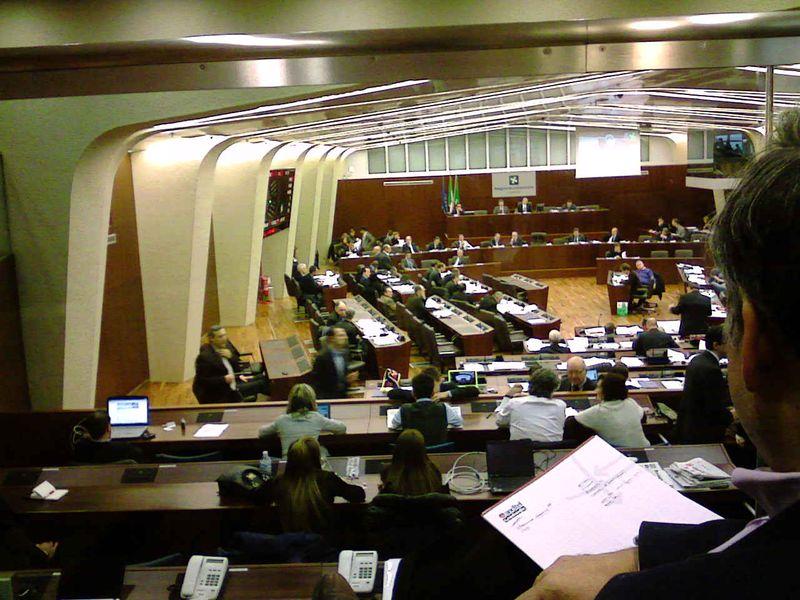 Consiglio regionale 30-11-10